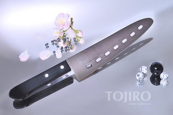 Нож поварской с тефлоновым покрытием