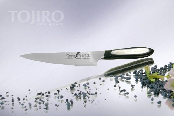 Нож универсальный Tojiro Flash, 130мм