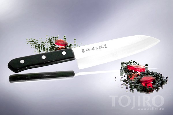 Нож поварской Сантоку
